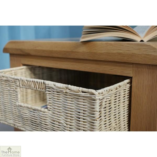 Pembury Oak 1 Drawer Lamp Table_9