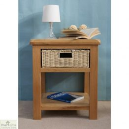 Pembury Oak 1 Drawer Lamp Table_1