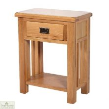 Farmhouse 1 Drawer Telephone Table