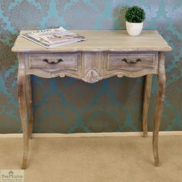 Casamoré Bordeaux 2 Drawer Console Table_1