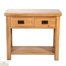 Farmhouse 2 Drawer Console Table
