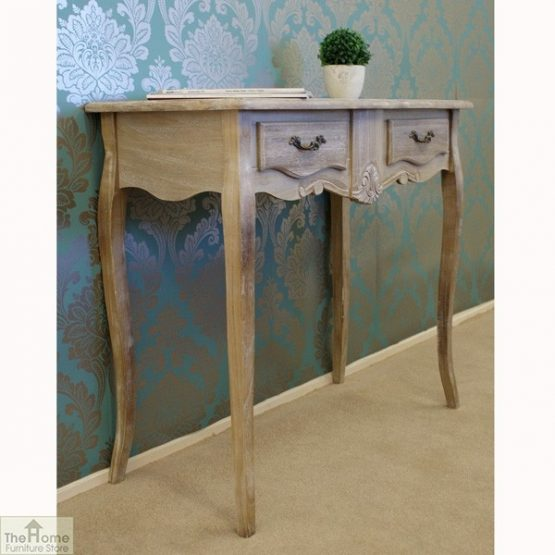Casamoré Bordeaux 2 Drawer Console Table_3