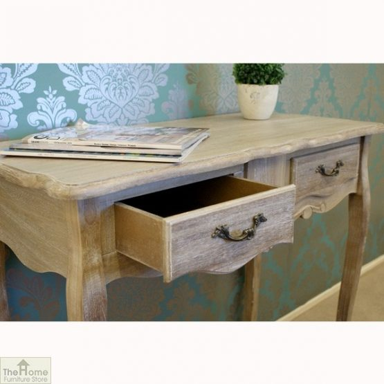Casamoré Bordeaux 2 Drawer Console Table_7
