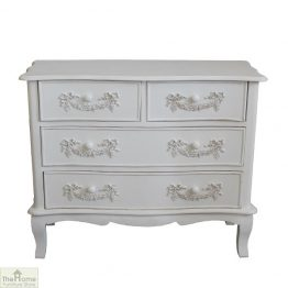 Limoges 4 Drawer Chest Unit