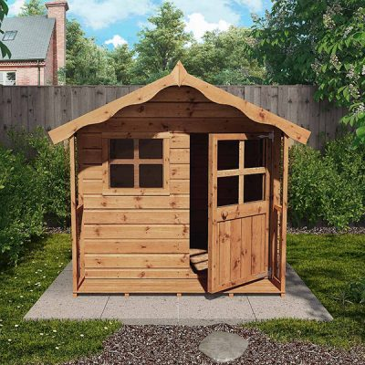 Cottage Style Childrens Playhouse_3