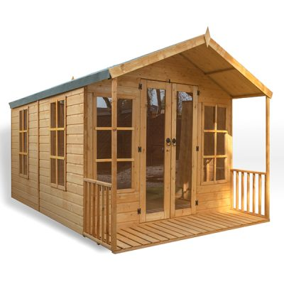 Traditional Wooden Summerhouse_7