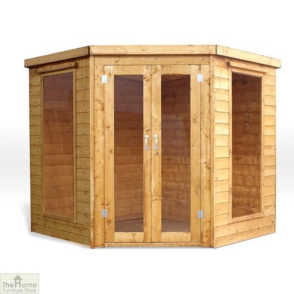 Wooden Corner Summerhouse