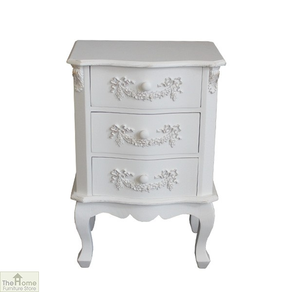 Limoges 3 Drawer Bedside Unit