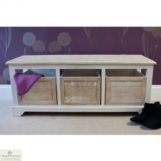 Cotswold 3 Seat Storage Bench_1