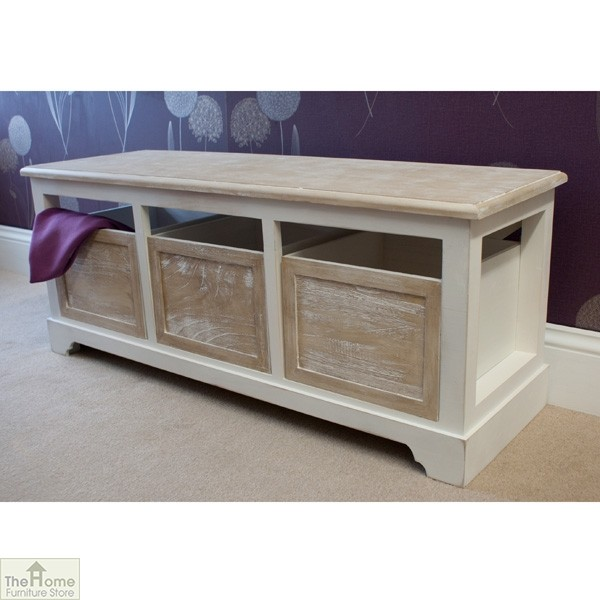 Cotswold 3 Seat Storage Bench_3