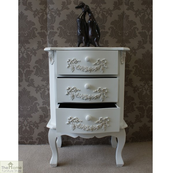 Limoges 3 Drawer Bedside Unit_2