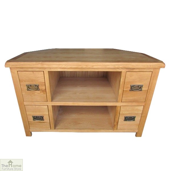 Farmhouse Corner TV Entertainment Unit