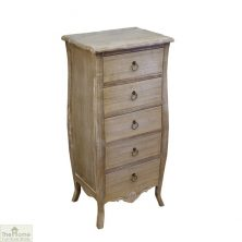 Bordeaux 5 Drawer Tallboy