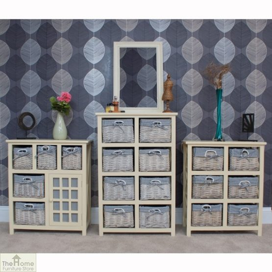 Selsey 6 Drawer Wicker Storage Unit_7