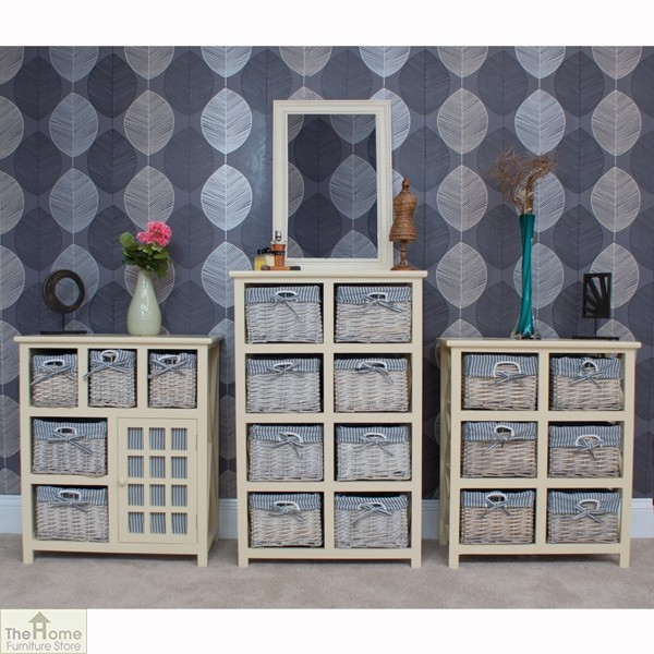 Selsey 6 Drawer Wicker Storage Unit_7