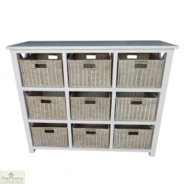 Casamoré Somerset 9 Drawer Storage Chest Unit