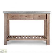 Aldsworth Zinc Top Potting Table