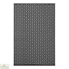 Arabian Nights Reversible Black Rug