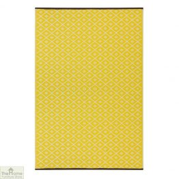 Eco-Friendly Reversible Yellow Rug_1