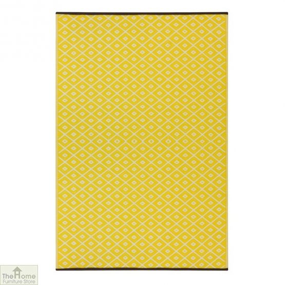 Eco-Friendly Reversible Yellow Rug_1