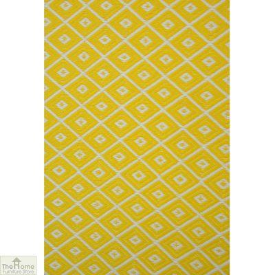 Eco-Friendly Reversible Yellow Rug_2