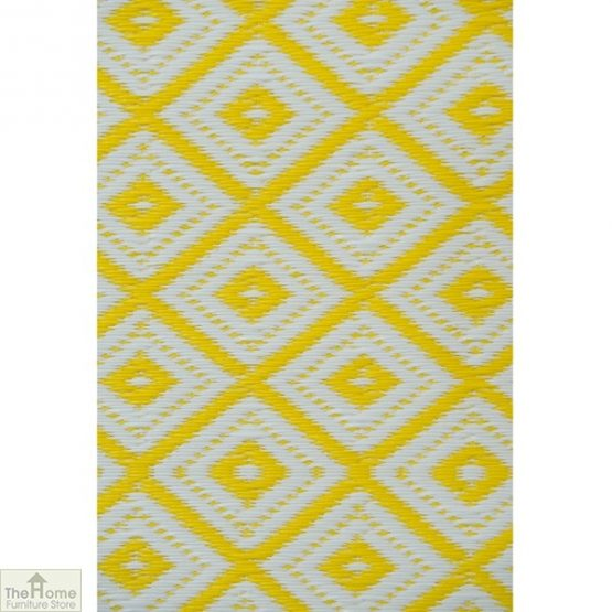 Eco-Friendly Reversible Yellow Rug_4