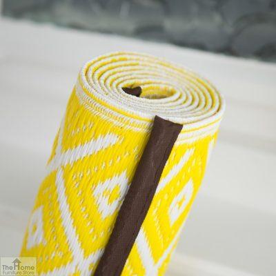 Eco-Friendly Reversible Yellow Rug_6