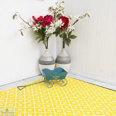 Eco-Friendly Reversible Yellow Rug_5