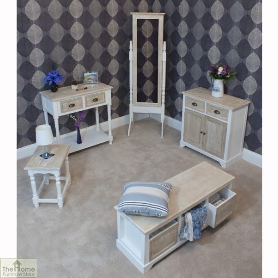 Cotswold 3 Seat Storage Bench_7
