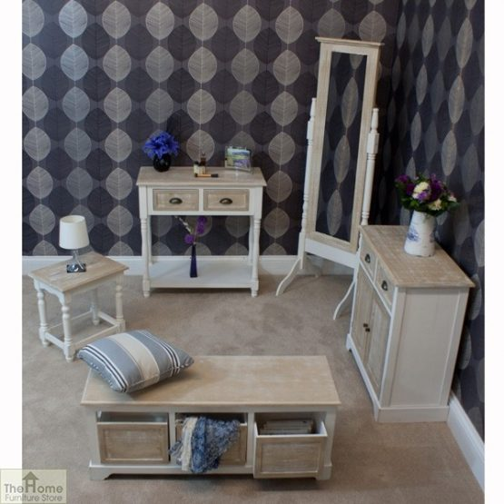 Cotswold 3 Seat Storage Bench_8