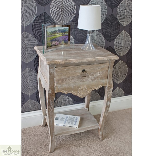Casamoré Bordeaux 1 drawer lamp table_2