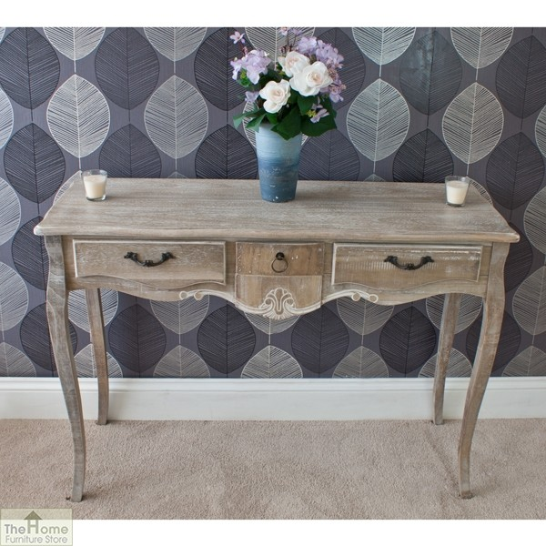 Bordeaux 3 Drawer Console_2