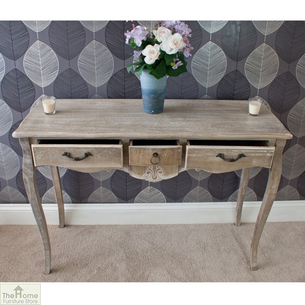 Bordeaux 3 Drawer Console_3