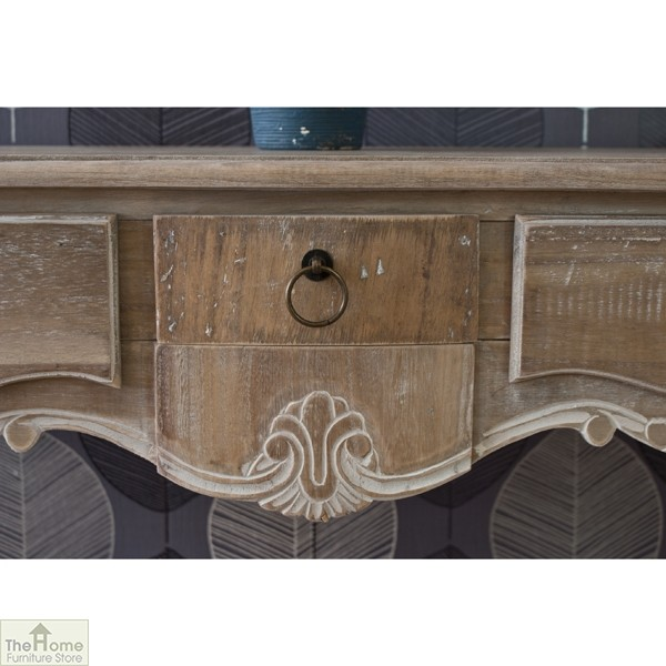 Bordeaux 3 Drawer Console_6