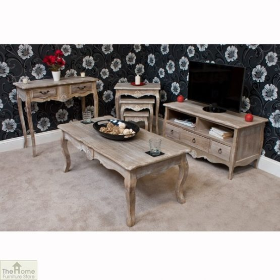 Casamoré Bordeaux 2 Drawer Console Table_10