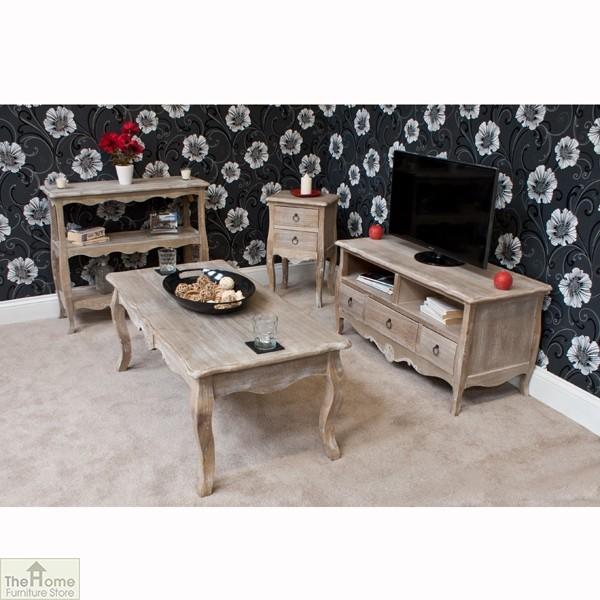 Casamoré Bordeaux 3 Drawer 2 Shelf TV Unit_3
