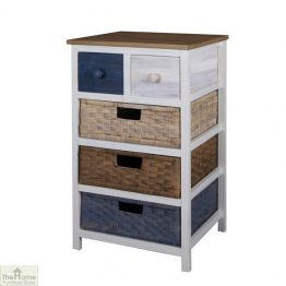 Camber 5 Drawer Tallboy Unit