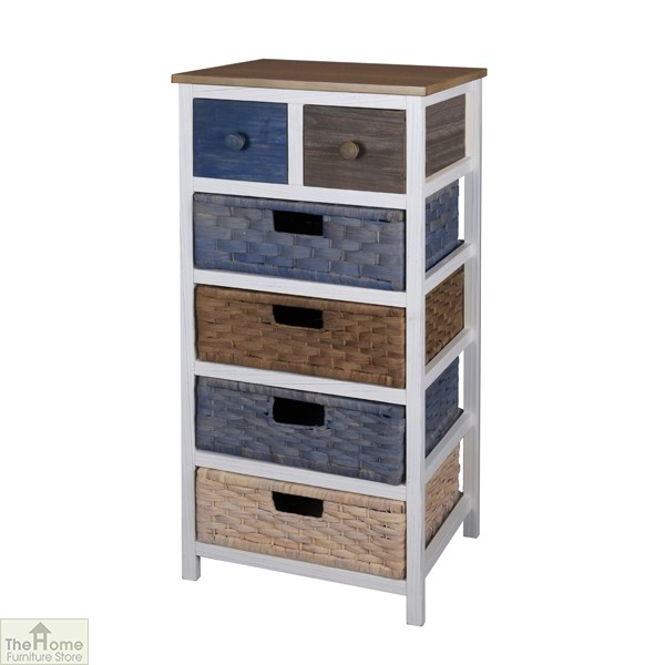 Camber 6 Drawer Tallboy