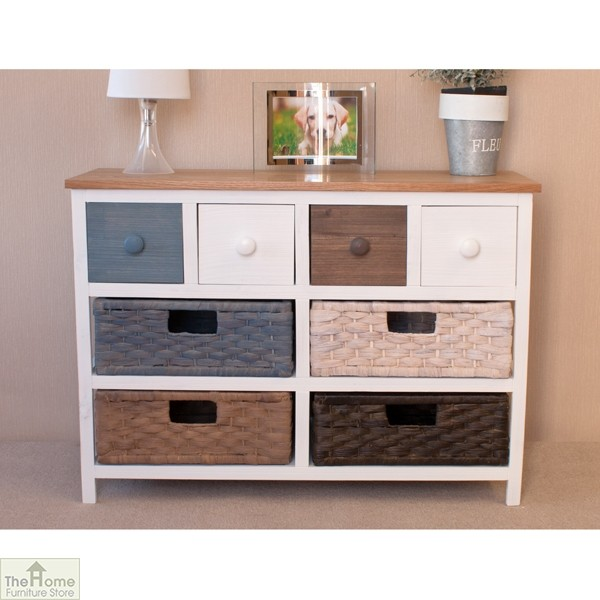 Camber Wide 8 Drawer Storage Chest The Home Furniture