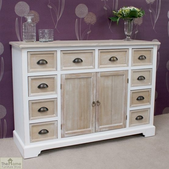 Cotswold 10 Drawer 2 Door Sideboard_3