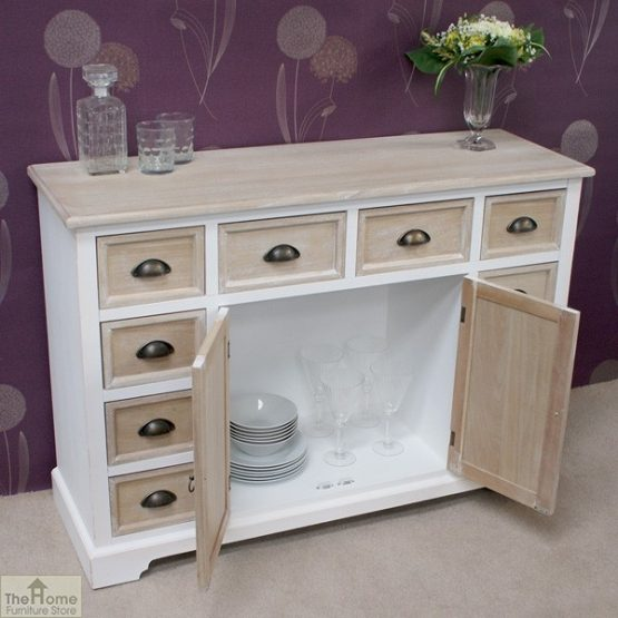 Cotswold 10 Drawer 2 Door Sideboard_2