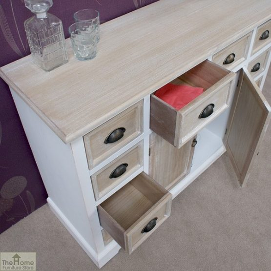 Cotswold 10 Drawer 2 Door Sideboard_4