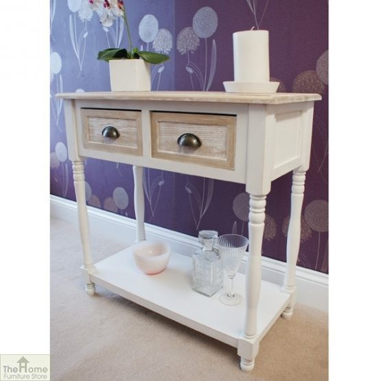 Cotswold 2 Drawer Console Table_2