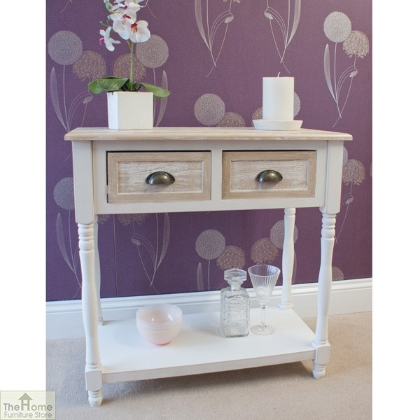 Cotswold 2 Drawer Console Table_3