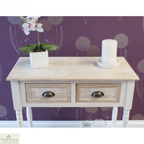 Cotswold 2 Drawer Console Table_4