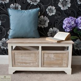 Cotswold 2 Seat Storage Bench_1