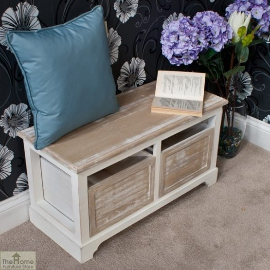 Cotswold 2 Seat Storage Bench_3