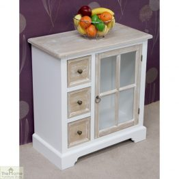 Cotswold Glass Door 3 Drawer Unit_1
