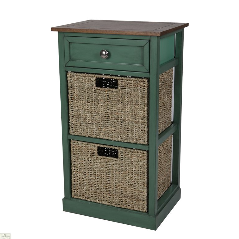 Country Cottage 3 Drawer Storage Chest