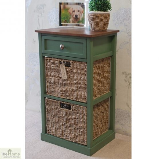 Country Cottage 3 Drawer Storage Chest_2